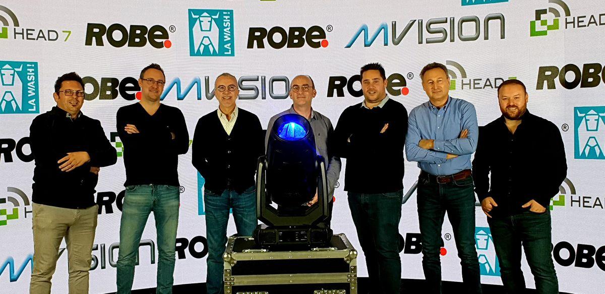 Inauguration du premier spot ESPRITE - ROBE chez Mvision