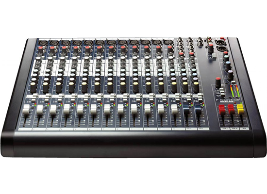photo Console analogique MPMI12 SOUNDCRAFT