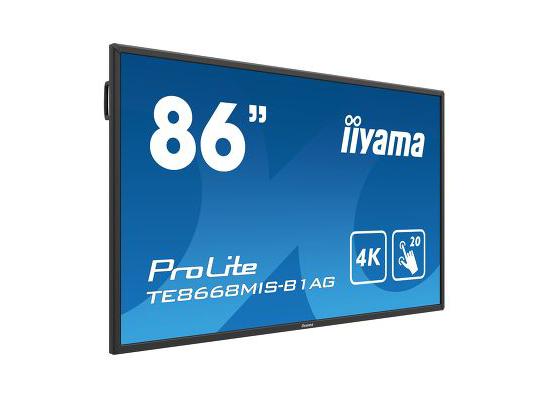 "photo écran tactile 86"" 4K IIYAMA"