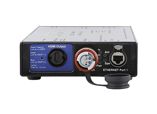 photo Émetteur/Récepteur HDMI 2.0 sur Fibre Optique