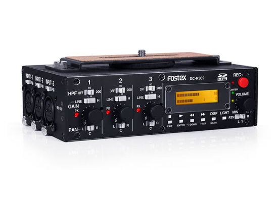 photo Console reportage DC-R302 FOSTEX