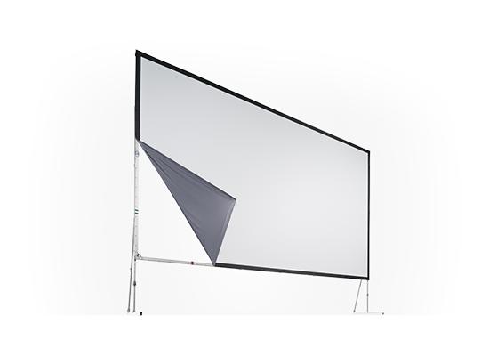 photo écran de projection STUMPFL 2.38 X 1.43 m