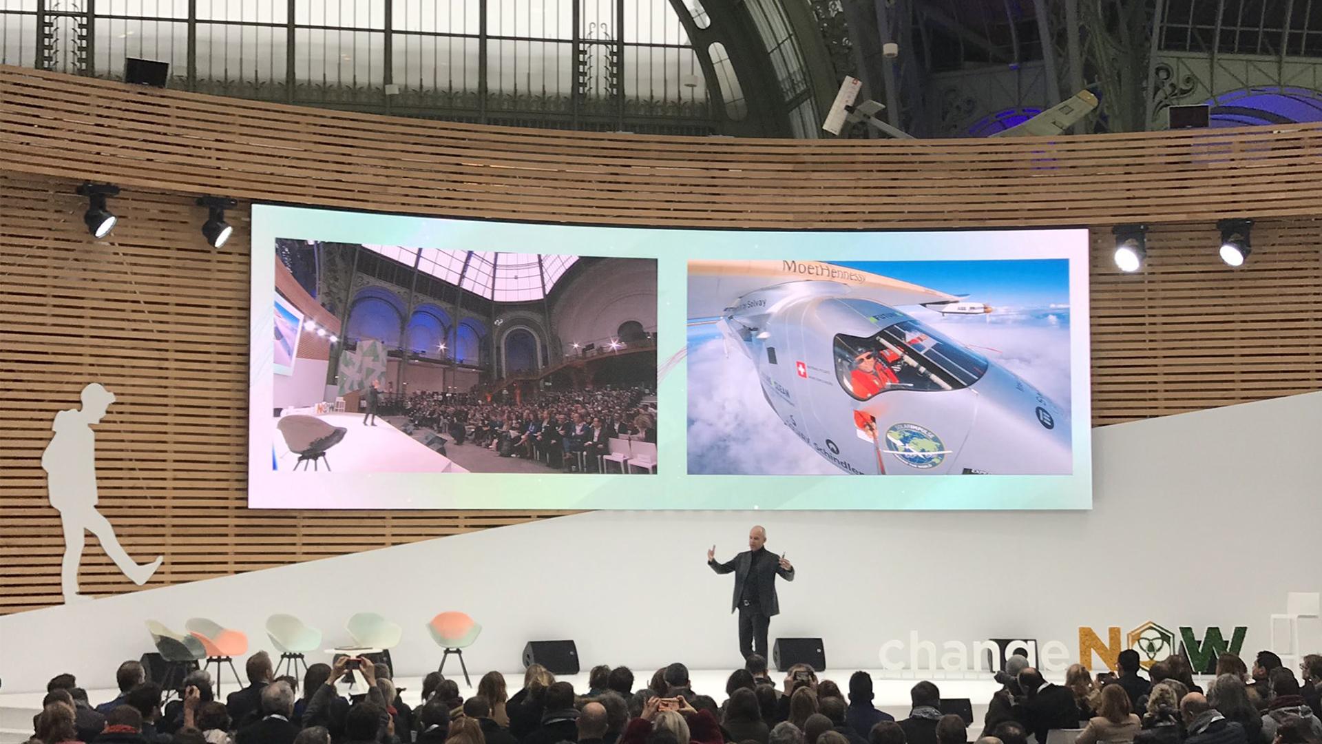 Exposition universelle des innovations pour la planète : CHANGE NOW