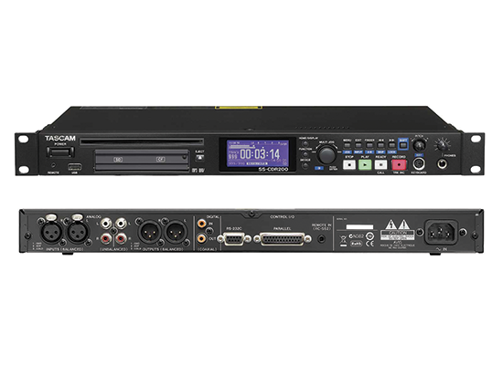 photo Enregistreur audio SS-R200 TASCAM