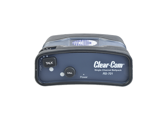 photo Body intercom filaire RS - 1 canal CLEARCOM