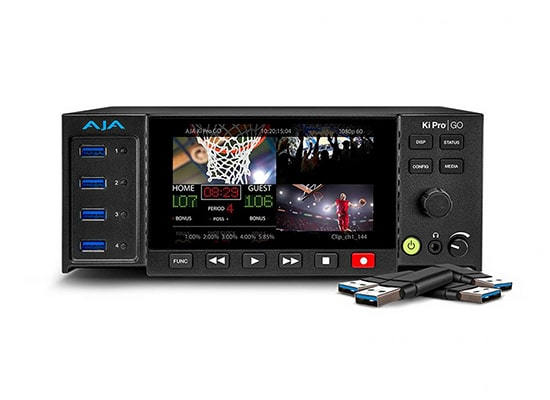 photo Lecteur / Enregistreur AJA KiPro Go (MultiChannel H264)