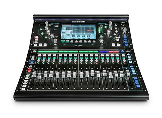 photo Console numérique SQ-5 Allen & Heath (16 in / 10 out+2)