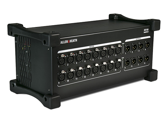 photo Rack de scène numérique Allen & Heath DX168 16in / 8out