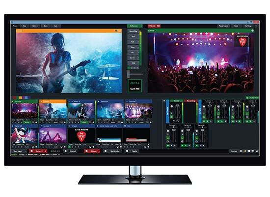photo Logiciel vMix Pro – Logiciel de Production & Streaming