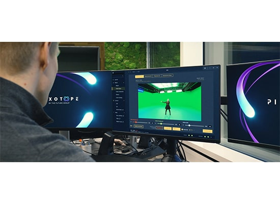 photo Système de production virtuel PIXOTOPE avec moteur graphique UNREAL ENGINE