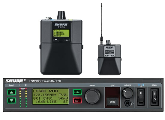 photo Ear Monitor PSM900 SHURE