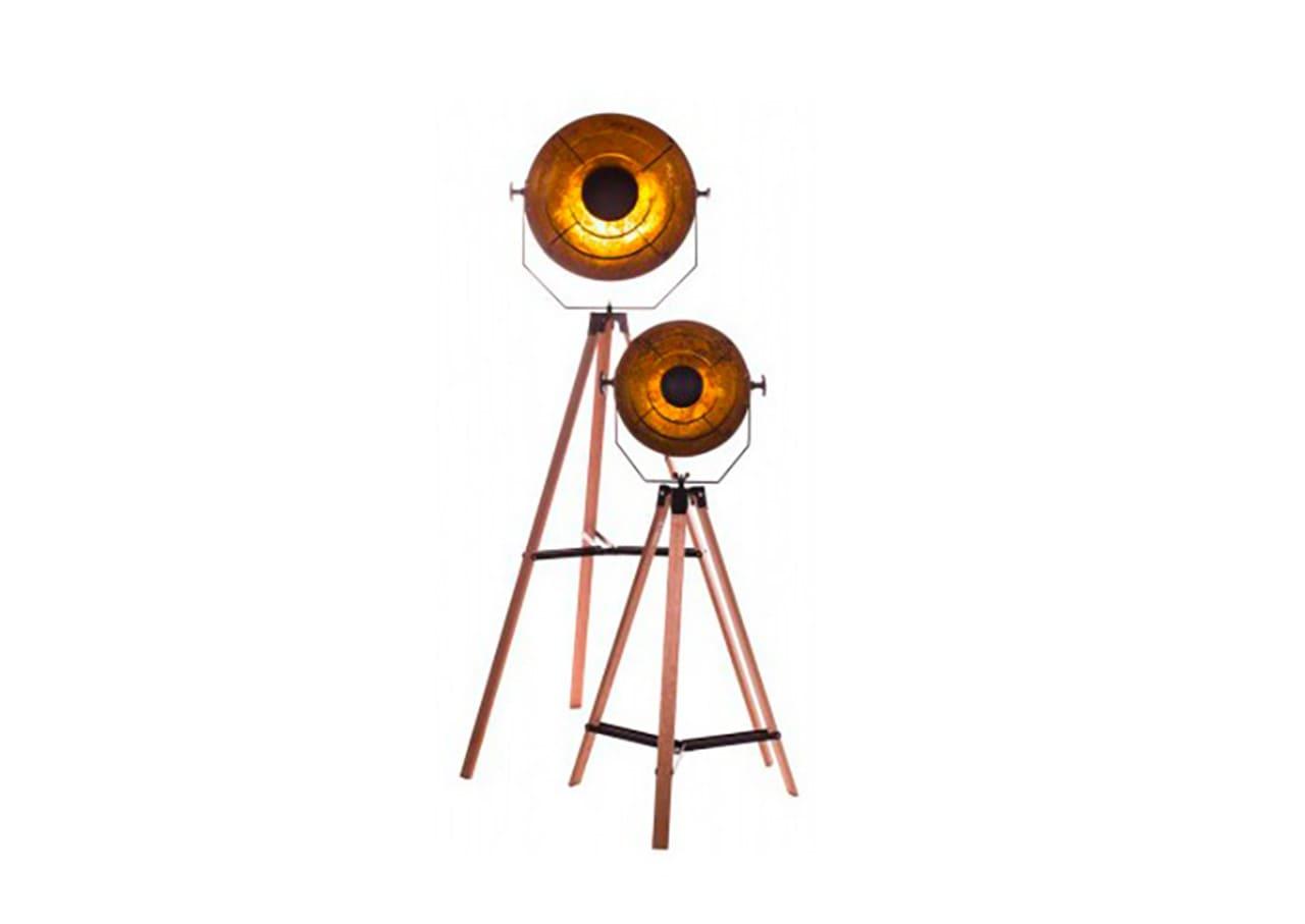 photo Trépied design Géomètre en bois